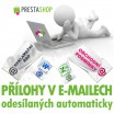 [Modul] Přílohy v automaticky odesílaných e-mailech