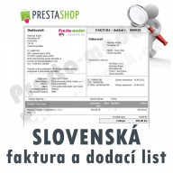 [Module] Slovak invoices and delivery notes