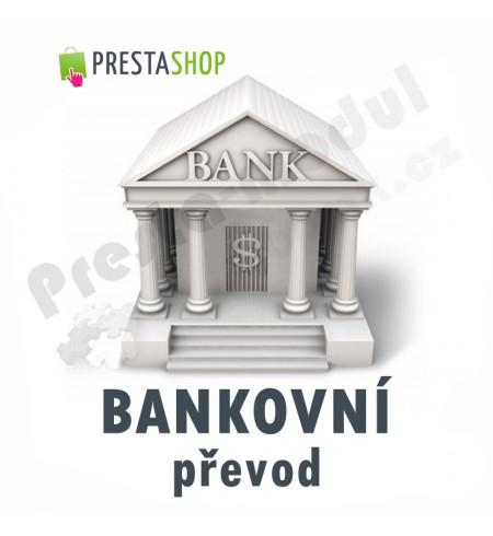 [Modul] Bankovní převod, QR platba, účty s vazbou na měnu