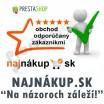 """Modul pro PrestaShop - [Modul] Najnákup.sk - """"Na názoroch záleží!"""" - Presta-modul 1.5.x, 1.6.x"""