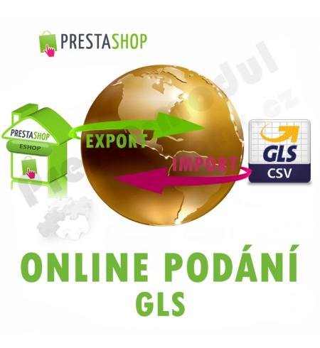 [Module] GLS online submission (exp/imp CSV)