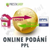 [Module] PPL online submission (exp/imp CSV)