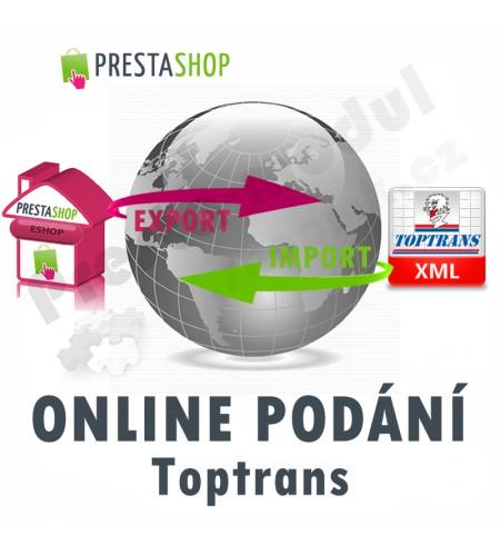 [Modul] Online podání Toptrans (exp/imp XML)