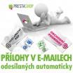 Modul pro PrestaShop - [MODUL] Přílohy v automaticky odesílaných e-mailech - Presta-modul 1.5.x, 1.6.x