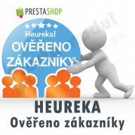 [Module]  Heureka - Verified by customers + Certificate window