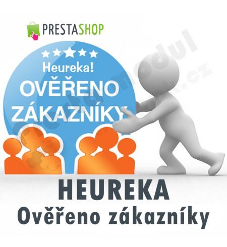 [Module]  Heureka - Verified by customers + Certificate window