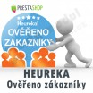 Modul pro PrestaShop - [MODUL] Heureka - Ověřeno zákazníky - Presta-modul 1.5.x, 1.6.x