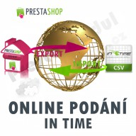 Modul pro PrestaShop - [MODUL] Online podání IN TIME (exp/imp CSV) - Presta-modul 1.5.x, 1.6.x