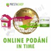 Module for PrestaShop - [MODULE] IN TIME online submission (exp/imp CSV) - Presta-module 1.5.x, 1.6.x