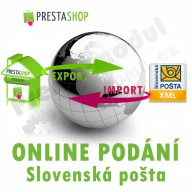 Module for PrestaShop - [MODULE] Slovak Post online submission (exp/imp XML) - Presta-module 1.5.x, 1.6.x