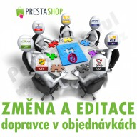 Module for PrestaShop - [MODULE] Edits and changes carriers in existing orders - Presta-module 1.5.x, 1.6.x