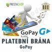 Module for PrestaShop - [Module] Payment Gateway GoPay - Presta-module 1.4.x, 1.5.x, 1.6.x