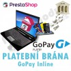 Module for PrestaShop - [MODULE] PAYMENT GATEWAY GOPAY INLINE - NEW VERSION - Presta-module 1.5.x, 1.6.x